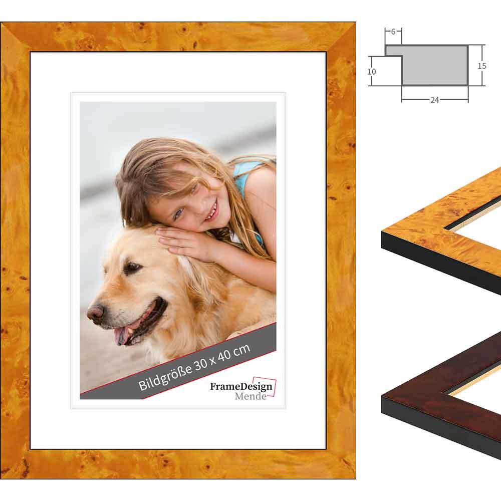 Holz Bilderrahmen Dogo Maßanfertigung