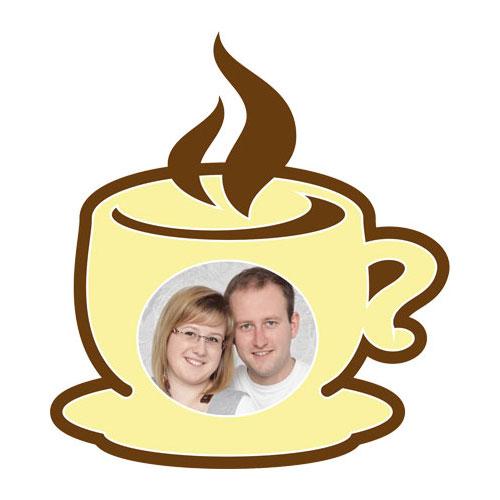 """Motiv-Passepartout """"Kaffeetasse"""""""