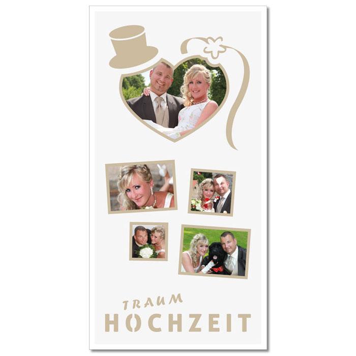 """Themen-Passepartout """"Hochzeit"""""""