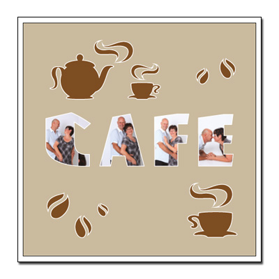 """Themen-Passepartout """"Kaffee"""""""