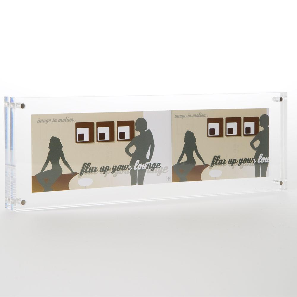 Pano-Frame aus Acrylglas 10 x 30 cm
