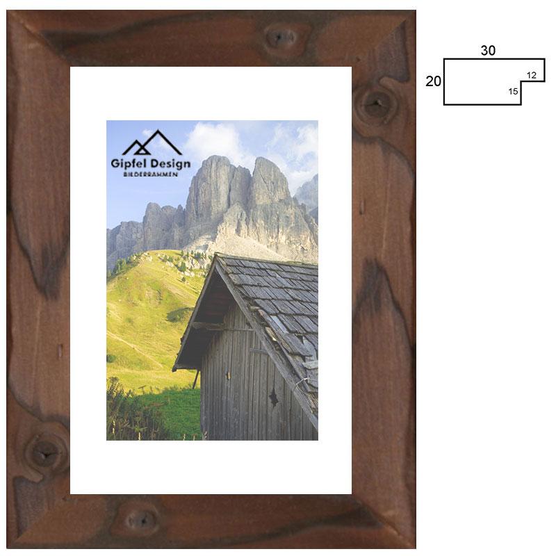 Holz-Bilderrahmen Achensee 30