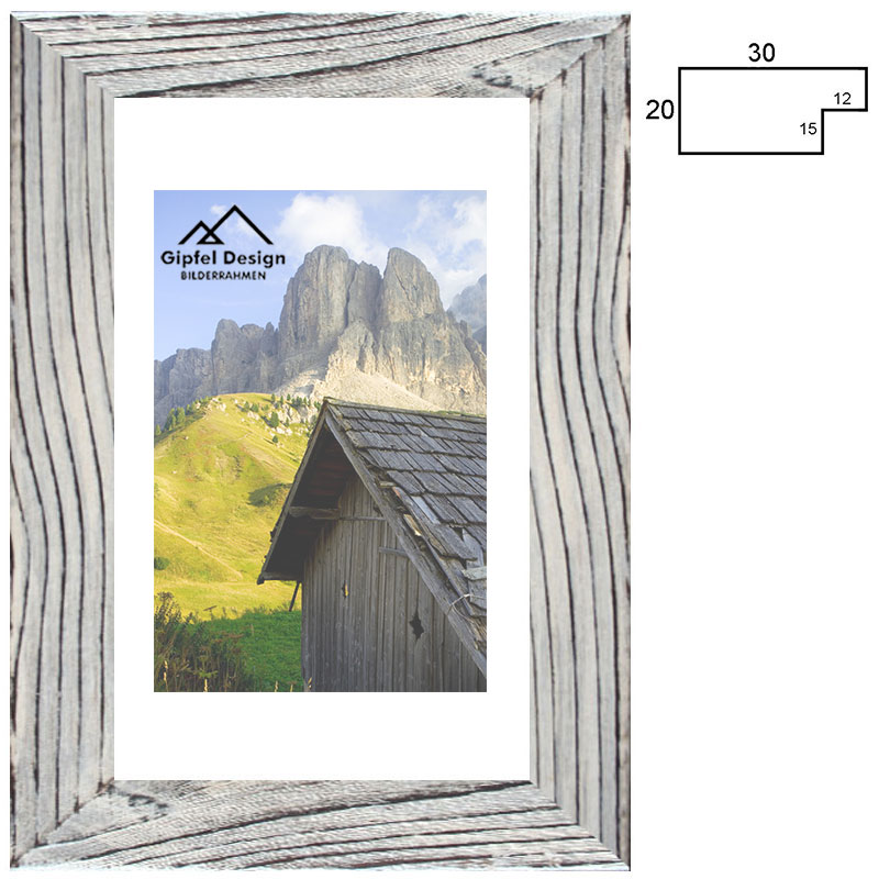 Holz-Bilderrahmen Tortalalm 10