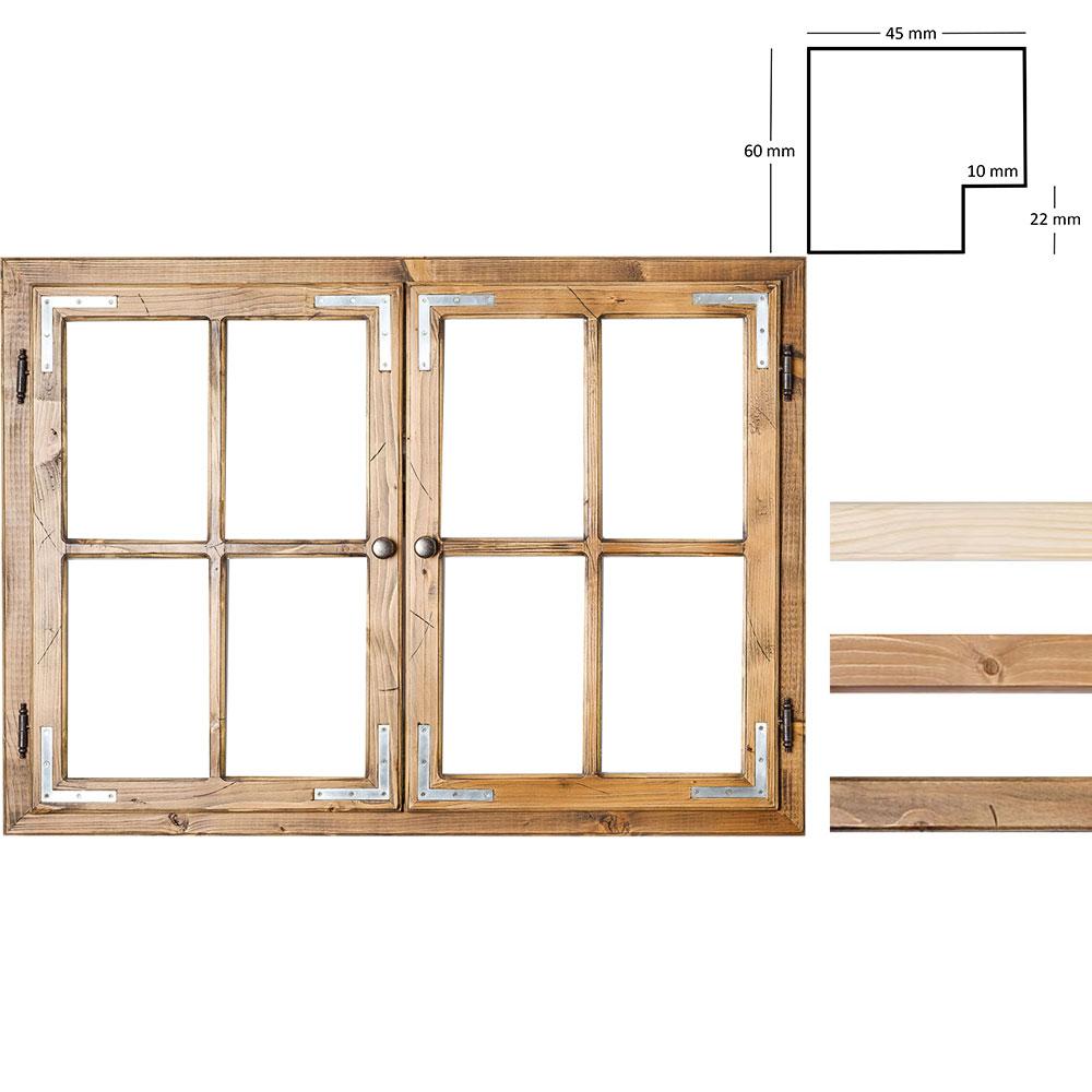 Dekofenster 70x100 cm