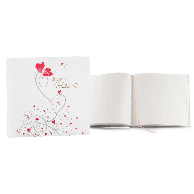 "G�stebuch ""Flying Hearts"""