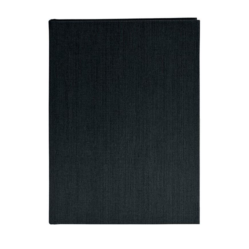 goldbuch skizzenbuch a5 mit leinenstruktur din a5 116 seiten schwarz. Black Bedroom Furniture Sets. Home Design Ideas
