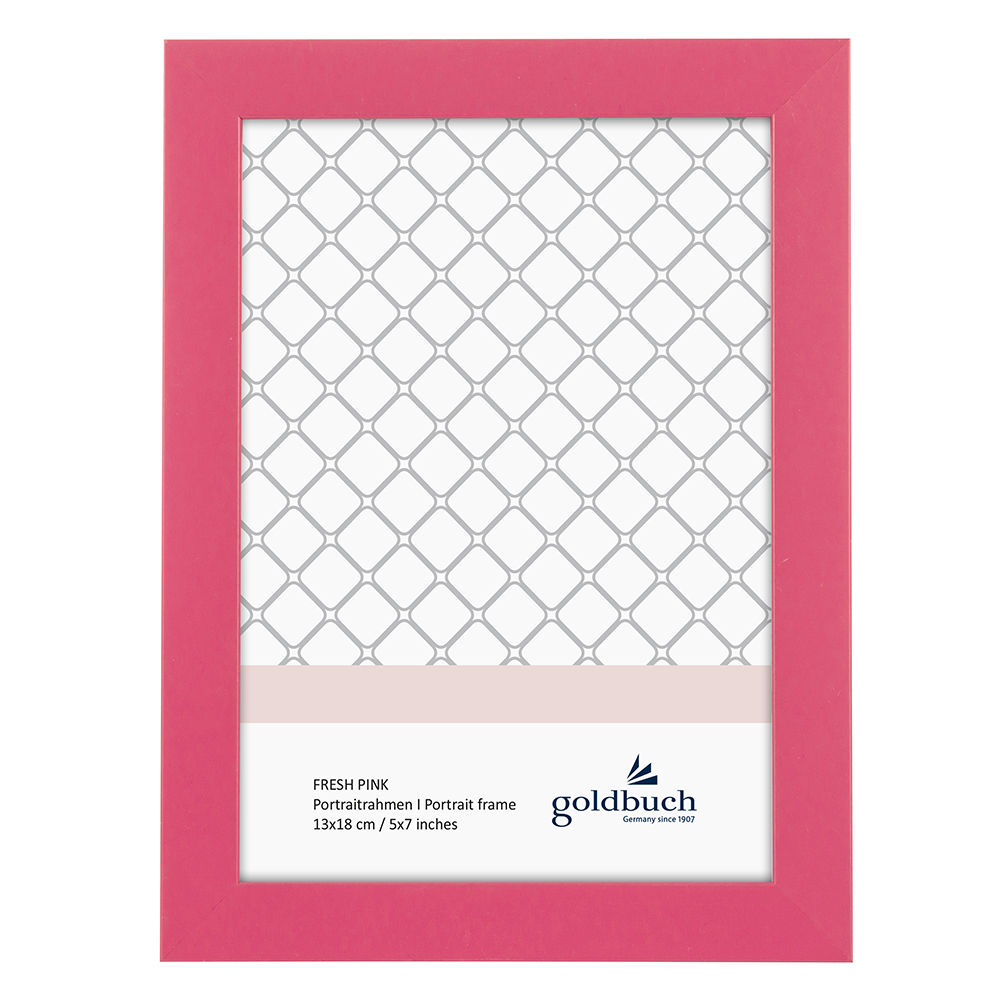 Kunststoff-Bilderrahmen Fresh pink