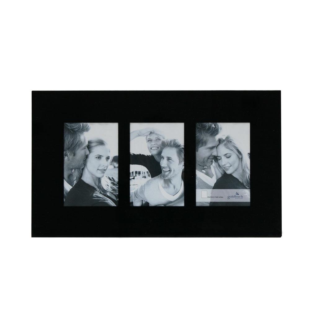 3er Galerierahmen aus Glas