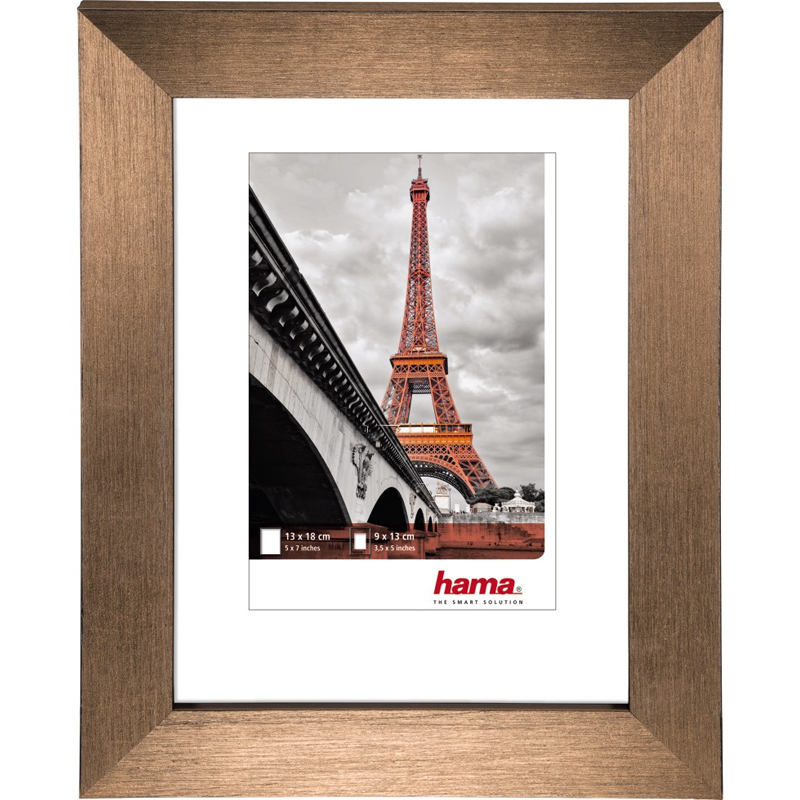 "Kunststoffrahmen ""Paris"" Kupfer"
