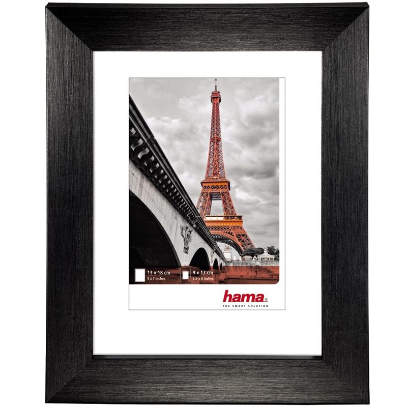 Madrid Kunststoffrahmen 40x50 cm schwarz