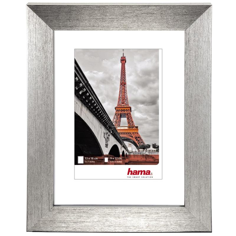 "Kunststoffrahmen ""Paris"" Silber"