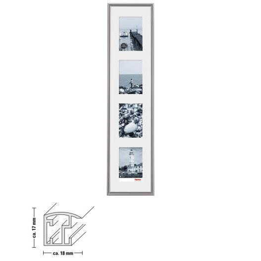 "Kunststoffrahmen-Galerie ""Malaga"""