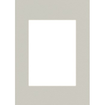 Fertig-Passepartouts Silbergrau