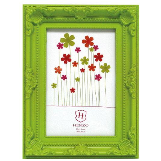 Kunststoff-Bilderrahmen Barock Colour Grün