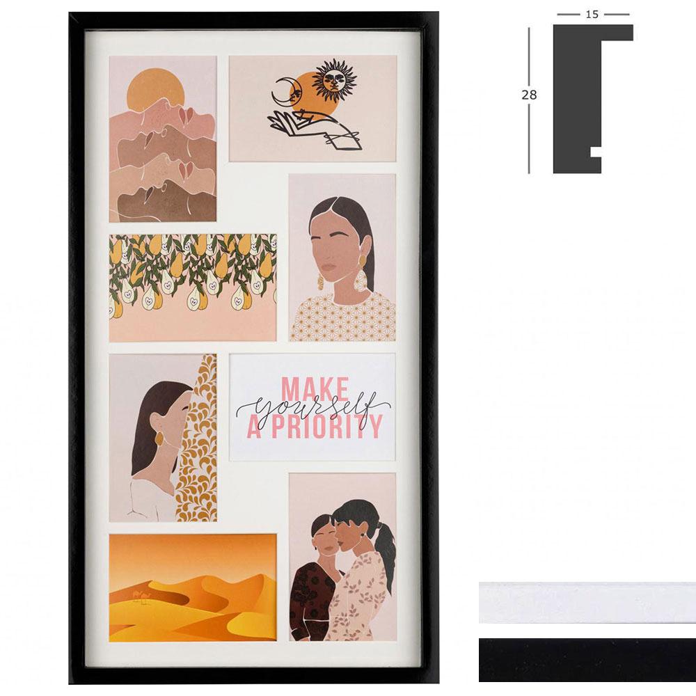 Galerierahmen Piano für 8 Bilder