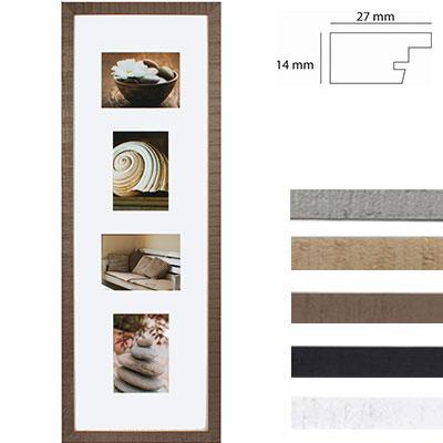 Galerierrahmen Driftwood für 4 Bilder