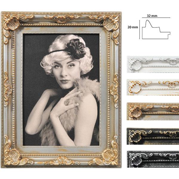 Kunststoff-Bilderrahmen Antique Barock