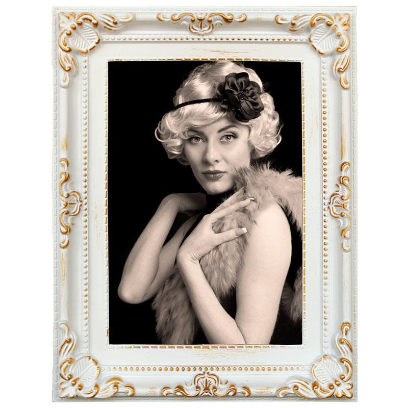 Henzo Kunststoff-Bilderrahmen Antique Barock 10x15 cm - Ocker ...