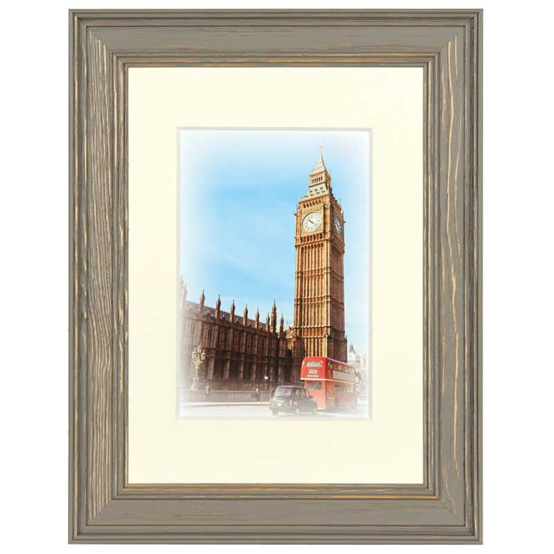 Henzo Holz-Bilderrahmen Capital London mit Passepartout 30x40 cm ...