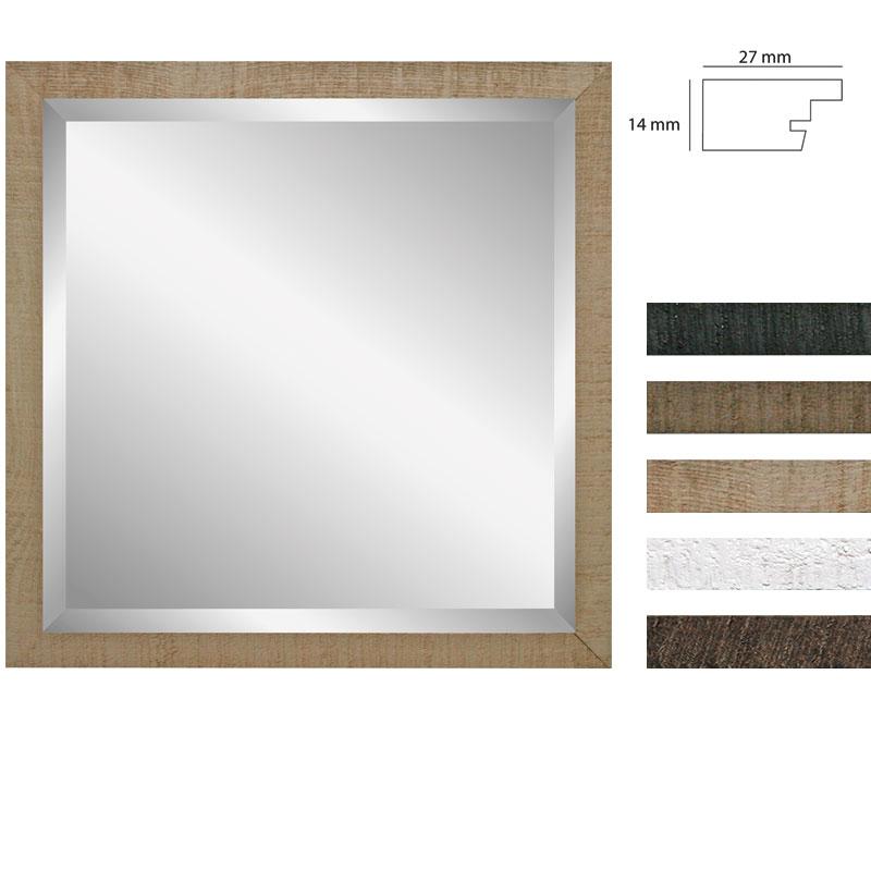 Wandspiegel Driftwood - 40x40 cm