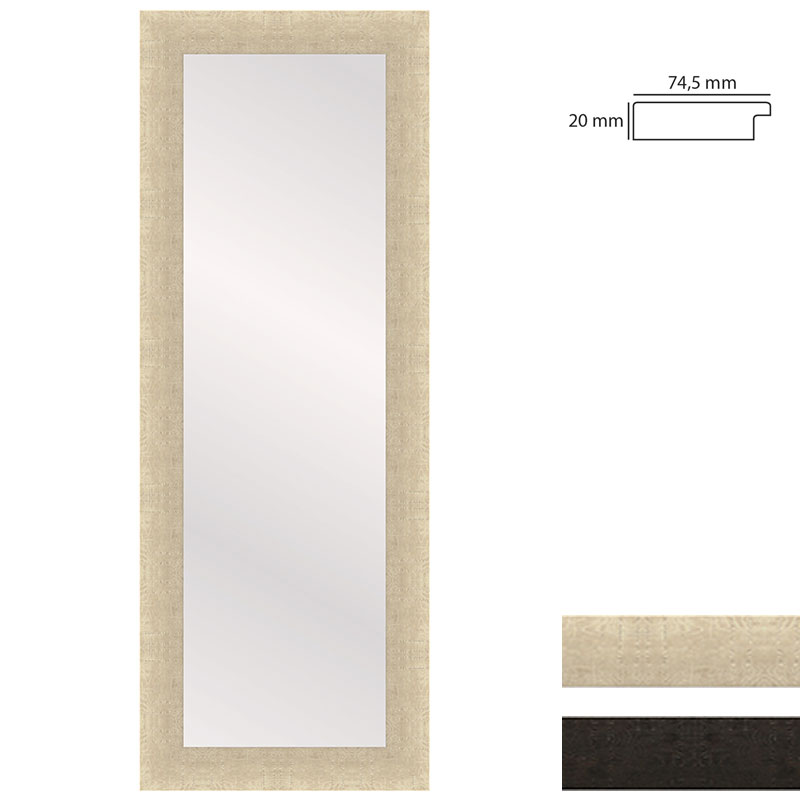 Ganzkörperspiegel WOODSTYLE - 35x120 cm
