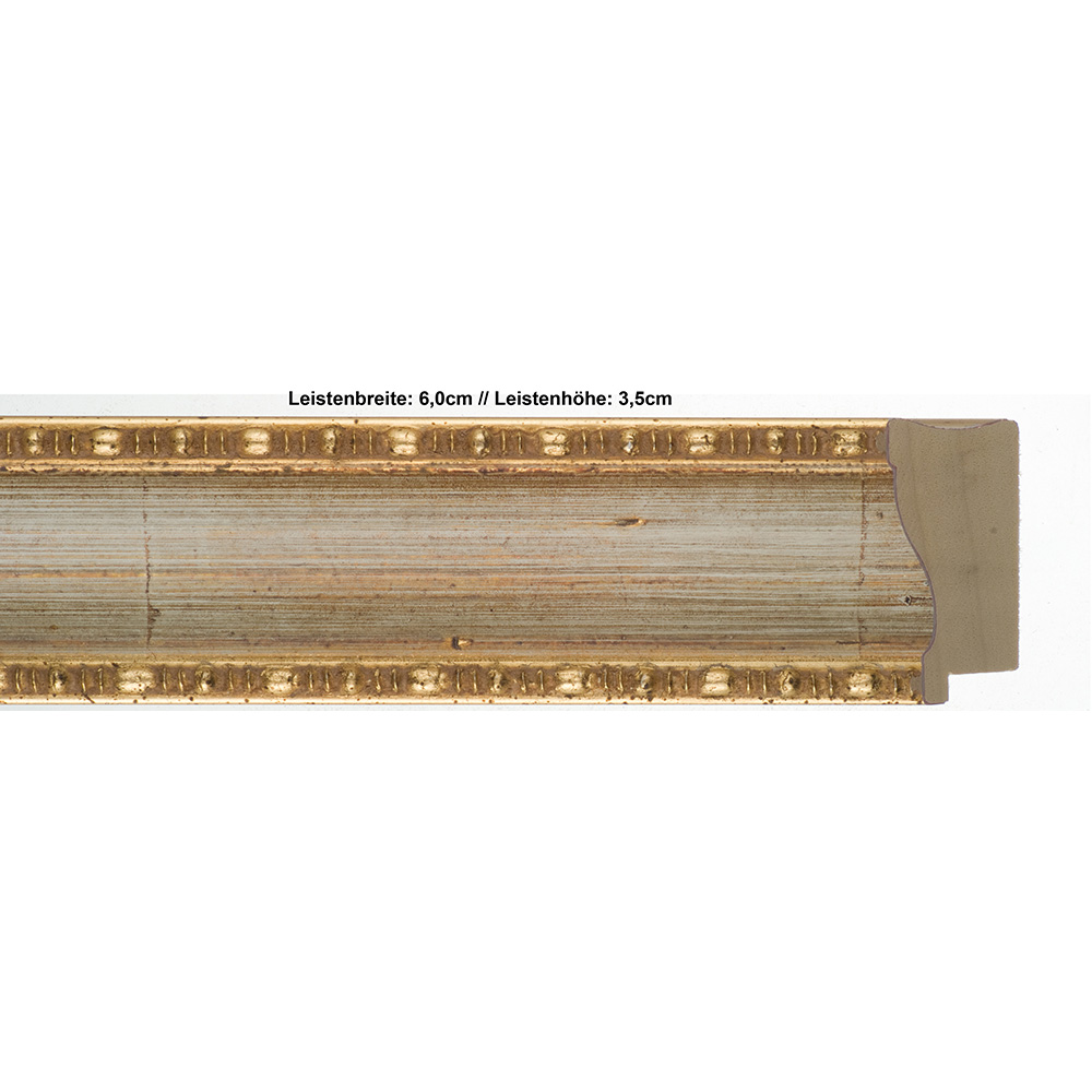 Klueber-Gebira Holzrahmen Pamplona 30x40 - elfenbein-gold, 2 ...