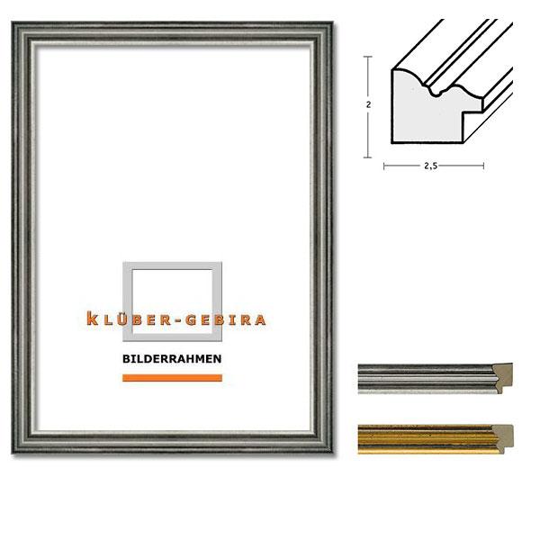 klueber gebira holzrahmen elda nach ma gold schwarz durchgerieben. Black Bedroom Furniture Sets. Home Design Ideas
