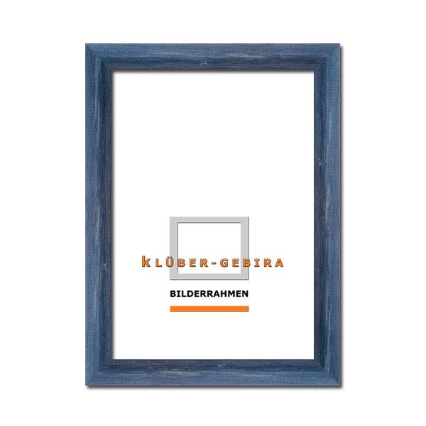 klueber gebira holzrahmen mogan nach ma graublau. Black Bedroom Furniture Sets. Home Design Ideas