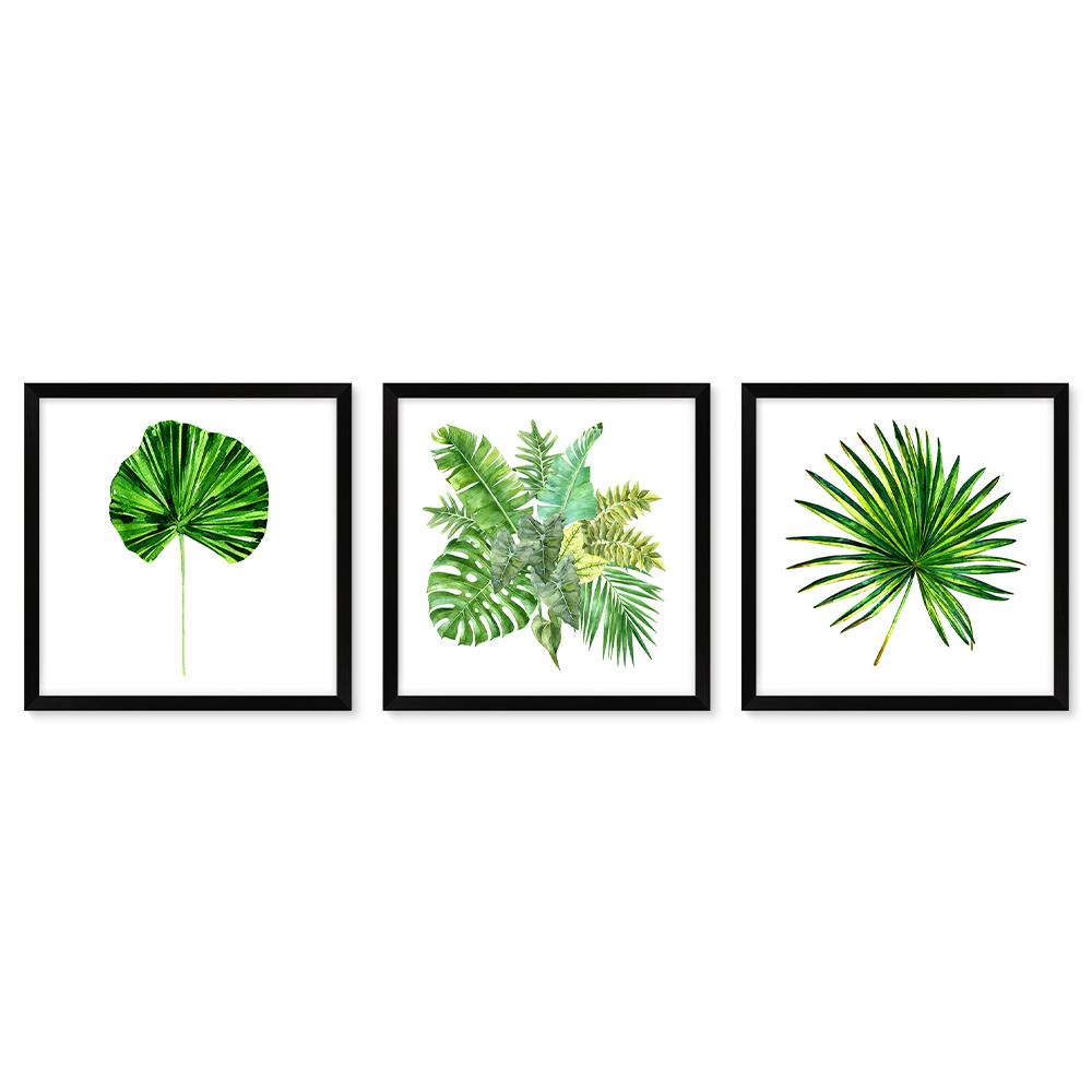 Bilderrahmen Galerie inkl. Poster Botanics