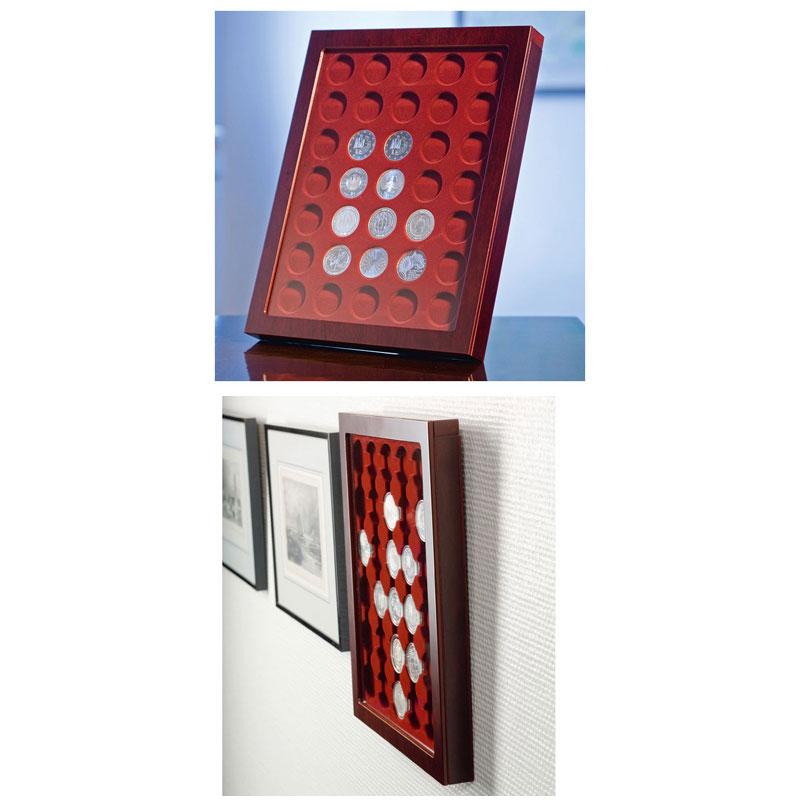 Leuchtturm Münzrahmen Louvre Für Ungekapselte 2 Euro Münzen