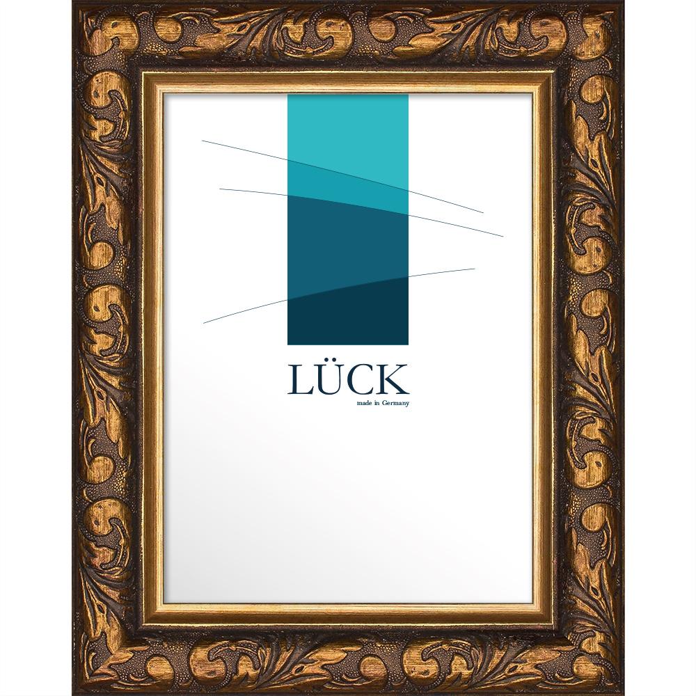 lueck barock bilderrahmen gemmingen 24x30 cm braun. Black Bedroom Furniture Sets. Home Design Ideas