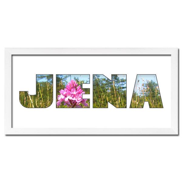 "Regiorahmen ""Jena"" mit Passepartout Weiss"