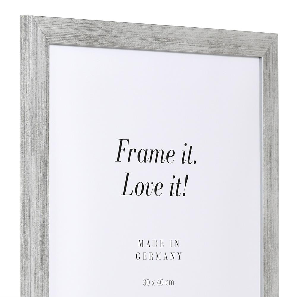 Holz-Bilderrahmen Top Pro silber