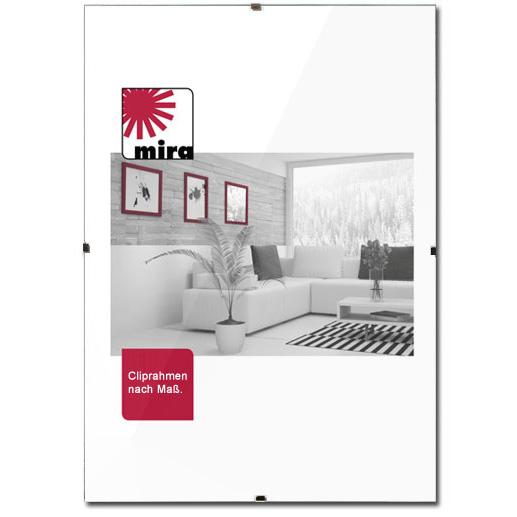 mira cliprahmen ma anfertigung rahmenlos. Black Bedroom Furniture Sets. Home Design Ideas