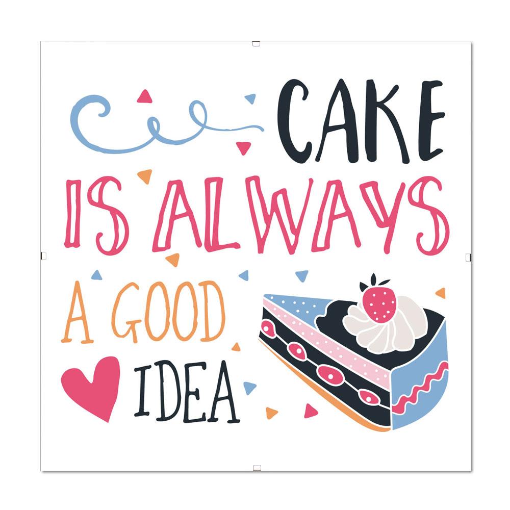 Kein Kuchen ist auch keine Lösung.