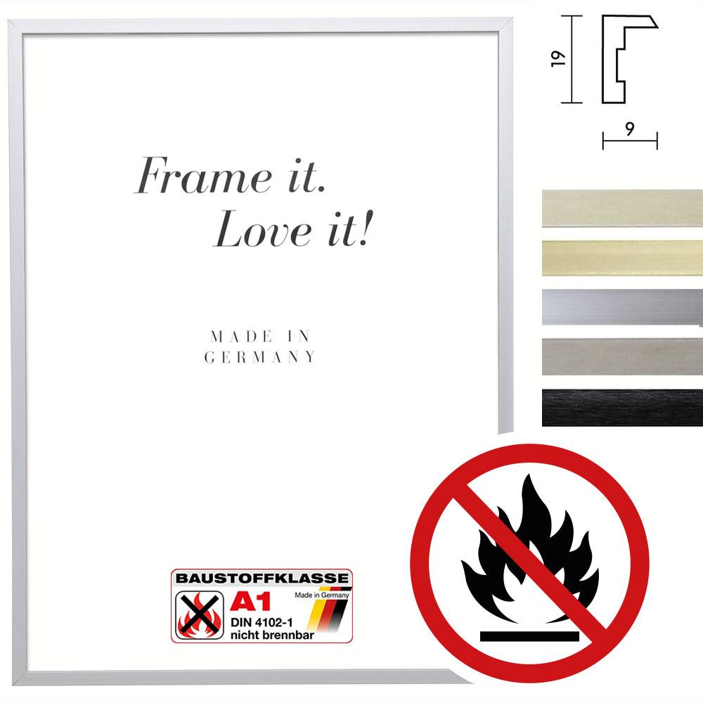 Klassifizierter Standard A1 Brandschutzrahmen Econ eckig