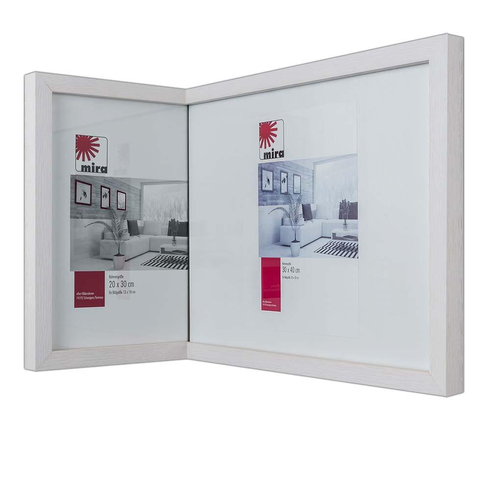 Mira In-die-Ecke-Rahmen 2:1, schmal 15x20 cm / 20x30 cm - Schwarz ...