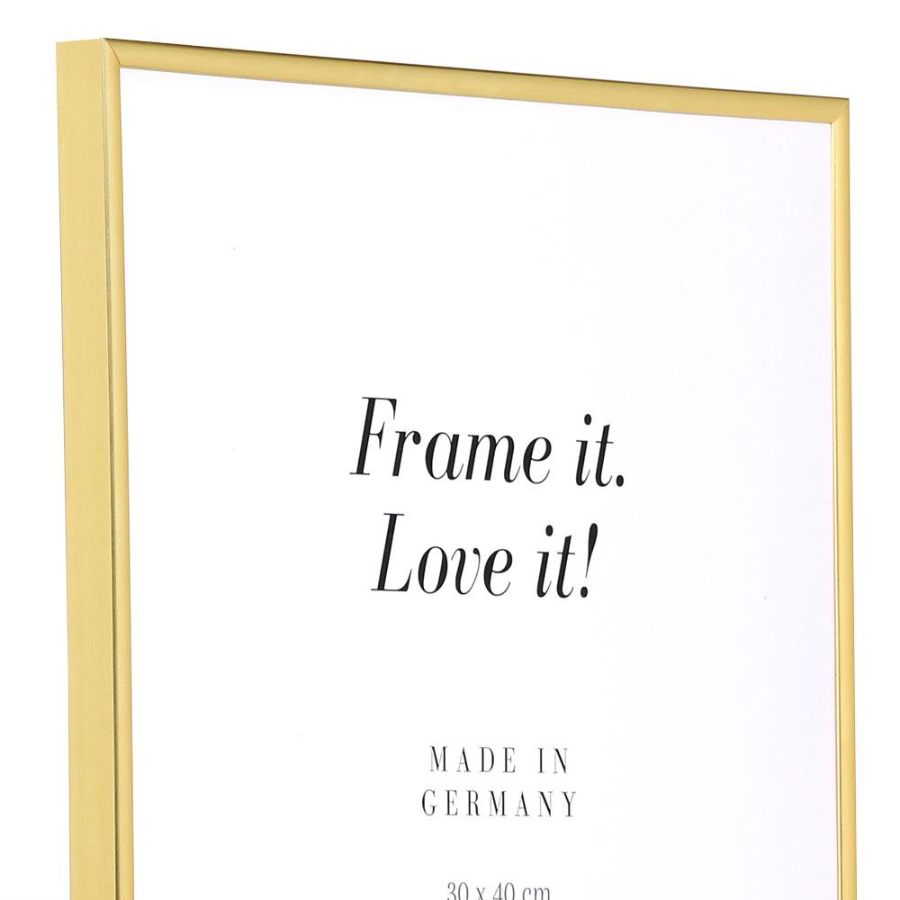 Kunststoffrahmen ART Gold
