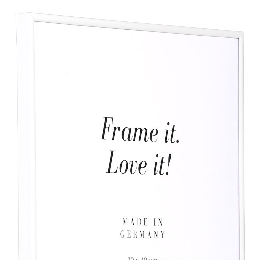 Kunststoffrahmen ART Weiß