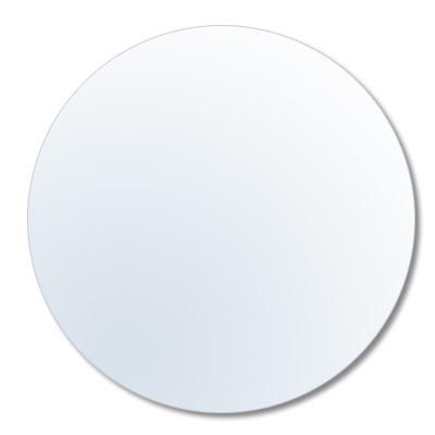 Rundes Ersatzglas für Bilderrahmen