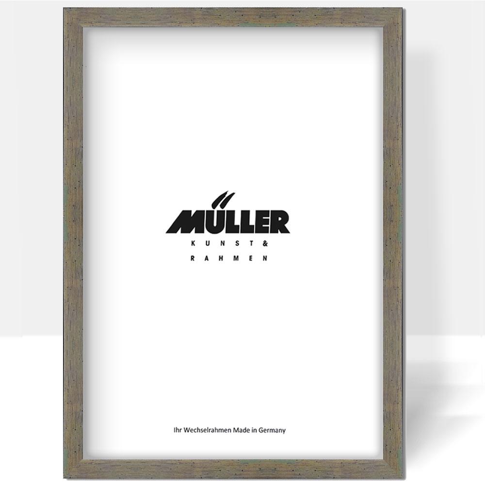 Müller Bilderrahmen Holz-Bilderrahmen Sachsen 18x18 cm - Pastell ...