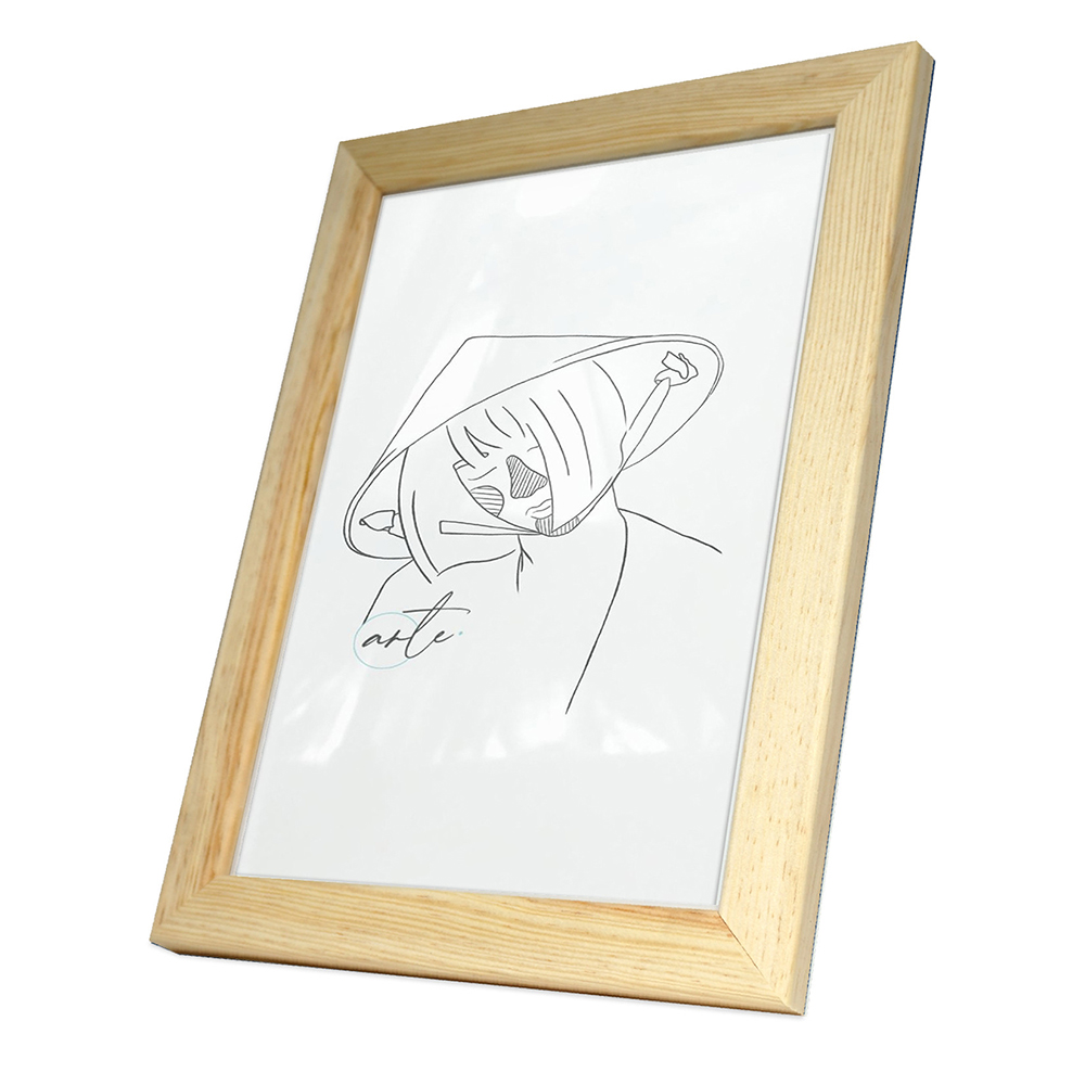Holz-Bilderrahmen Max Natur