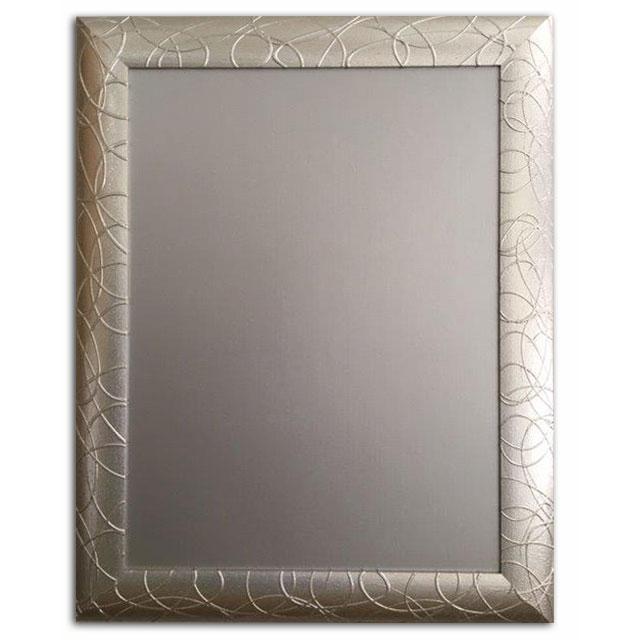 Spiegel Mit Bilderrahmen neapolis spiegel bilderrahmen vasto 80x100 cm silber allesrahmen de