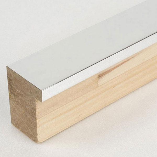 Holzrahmen Sonderzuschnitt, Matrix 39 Aluminium