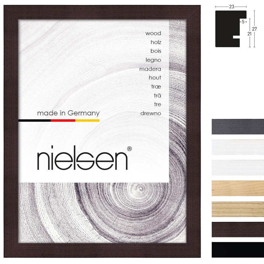 Nielsen Holzrahmen XL 23 59,4x84,1 cm (A1) - Gold | AllesRahmen.de