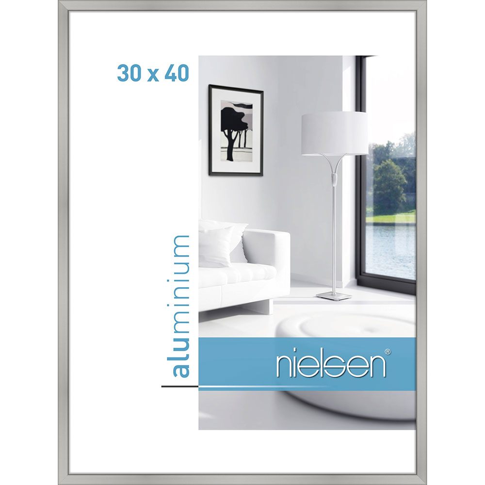Alurahmen Classic Silber matt 30x40 cm