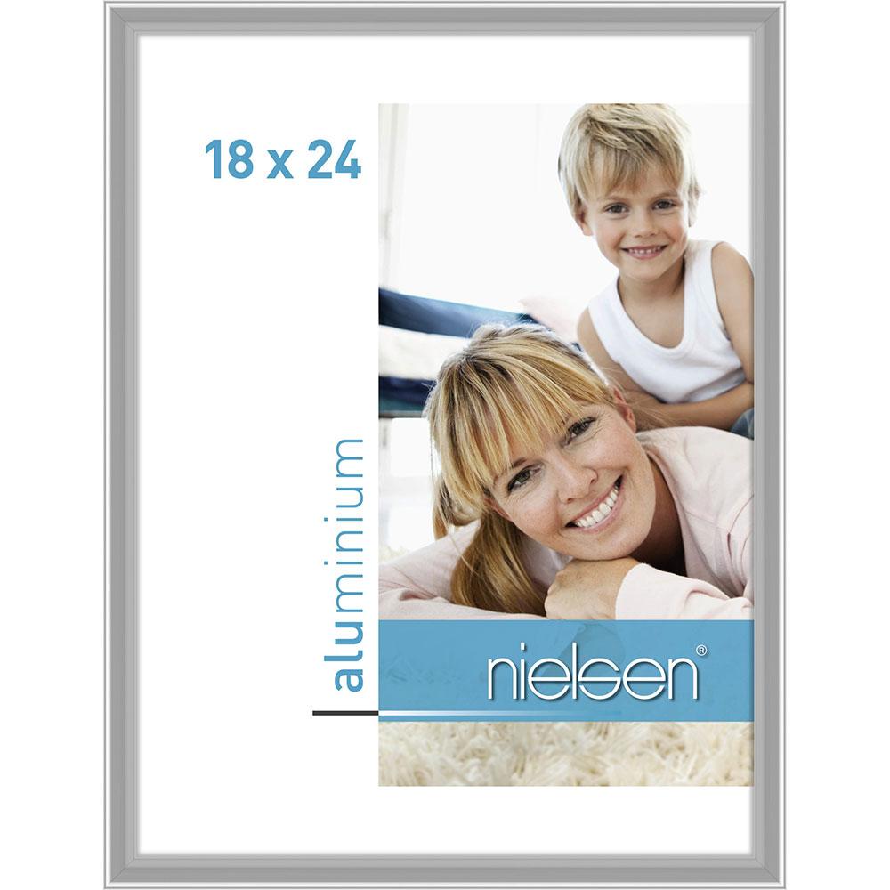 Alurahmen Classic Silber glanz 18x24 cm