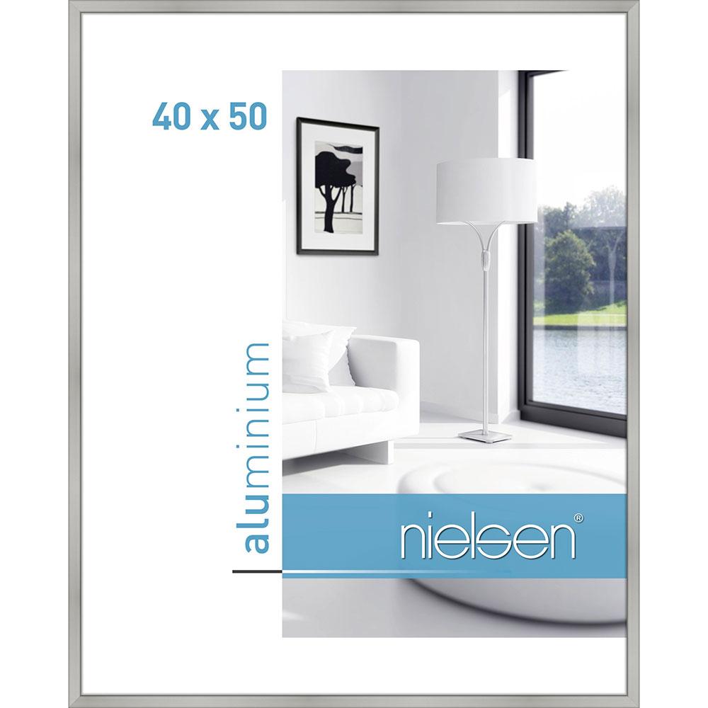 Alurahmen Classic Silber matt 40x50 cm