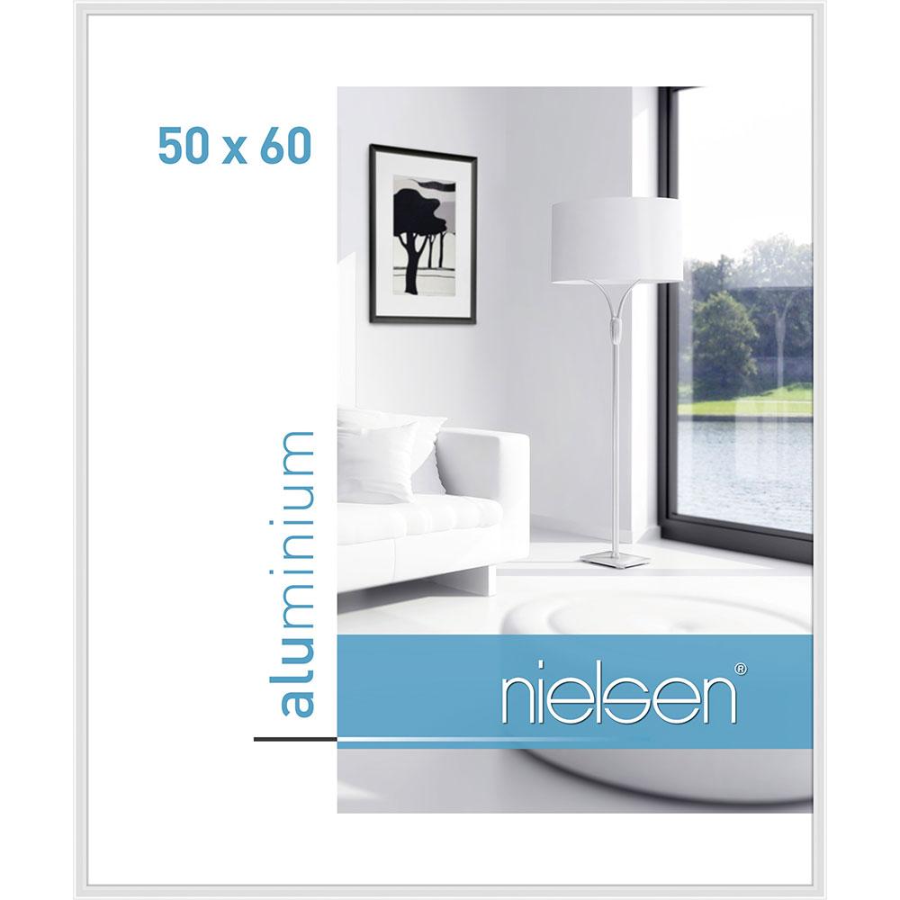 Alurahmen Classic Weiß glanz 50x60 cm
