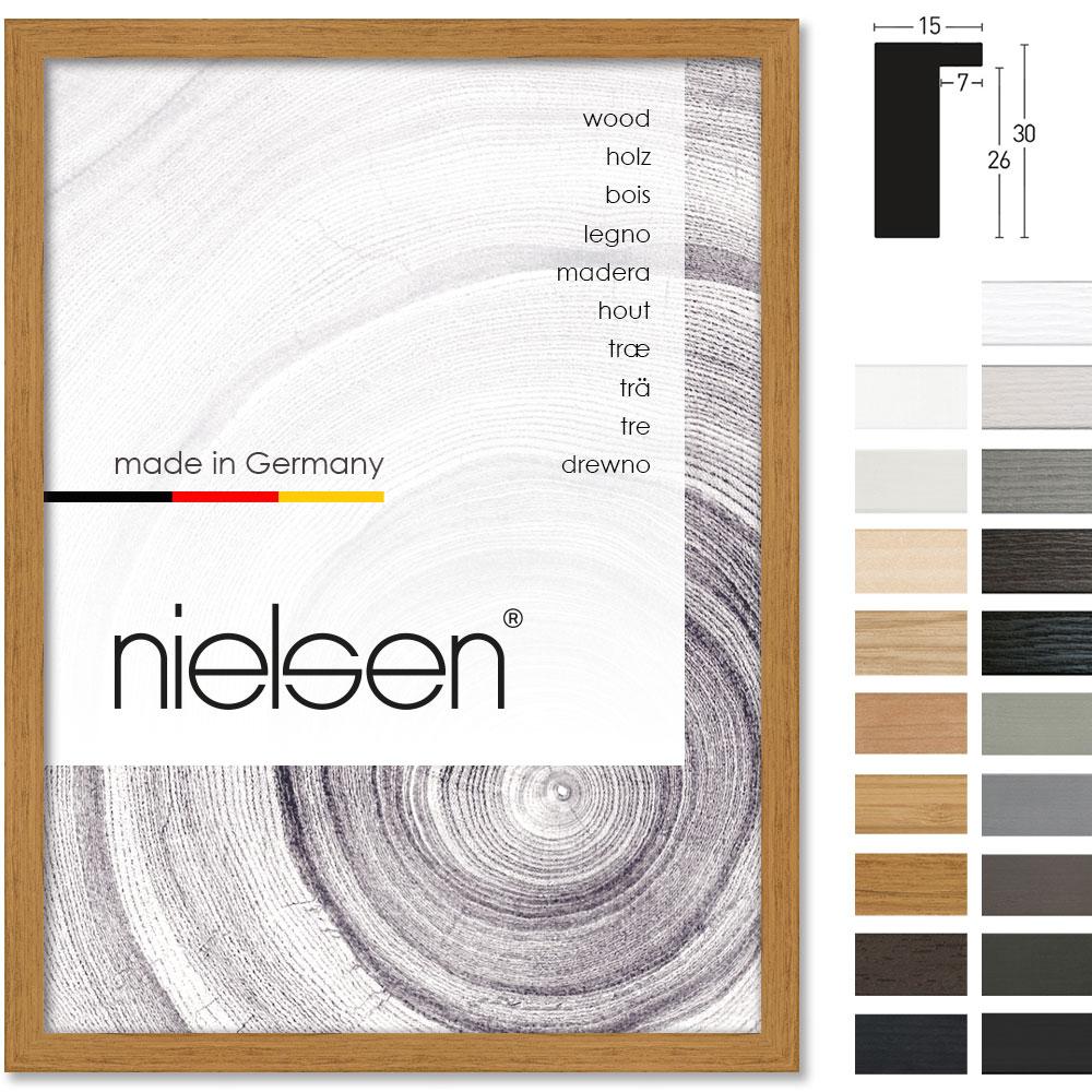 Nielsen Holzrahmen Loft 15 29 7x42 Cm A3 Bambus Allesrahmen De